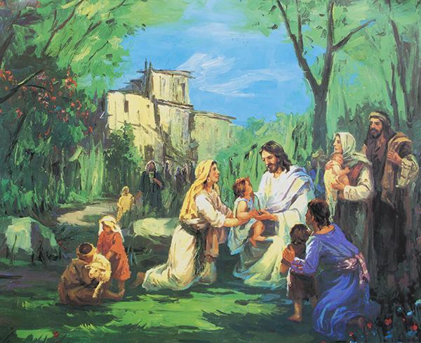 இயேசுவும் அவருடைய சீடர்களும்
