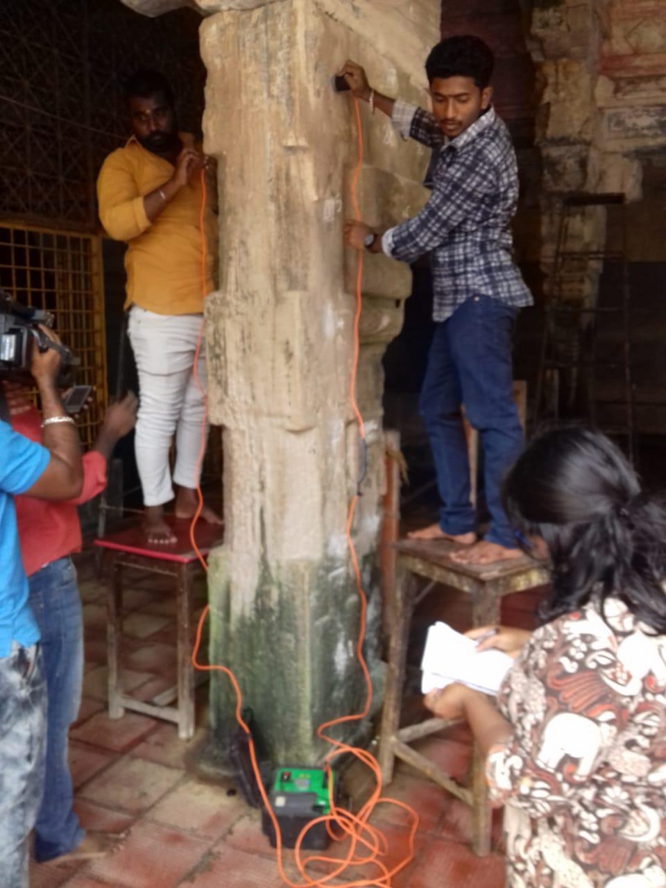 ராமேஸ்வரம் கோயிலில் ஐ.ஐ.டி ஆய்வு