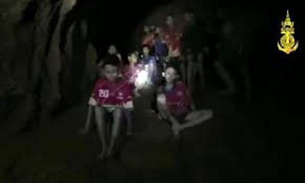 தாய்லாந்து குகையில் சிறுவர்கள்