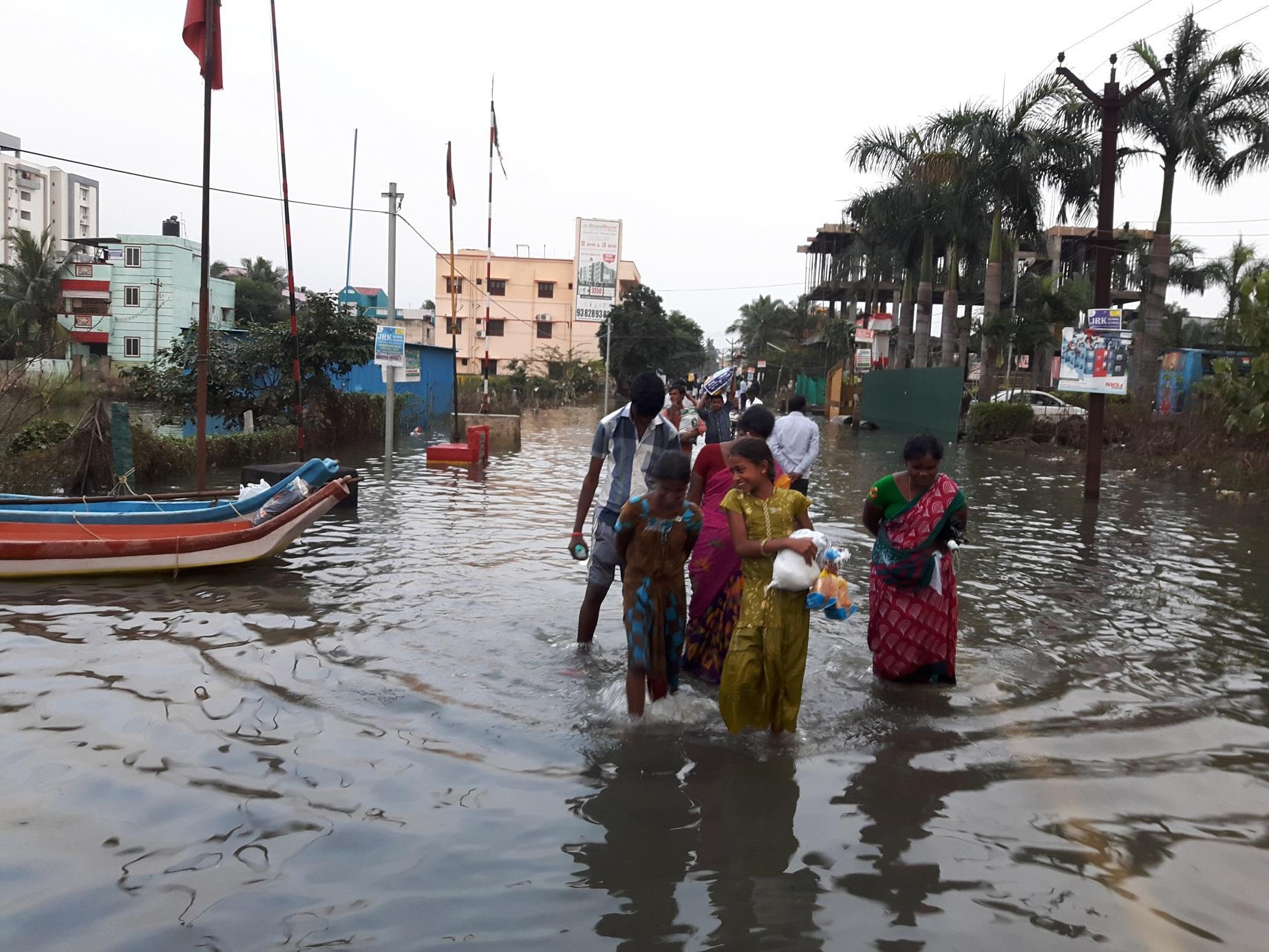 சென்னை புறநகர் மழை பாதிப்பு