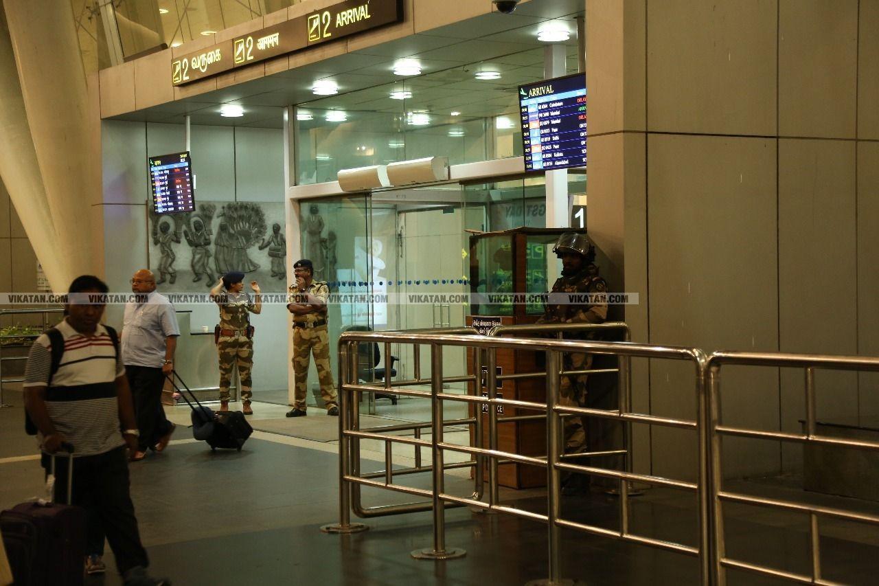 சென்னை விமான நிலையம்