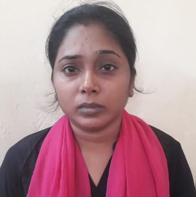 ராஜேஷை கொலை செய்த இளம்பெண் பத்மாவதி