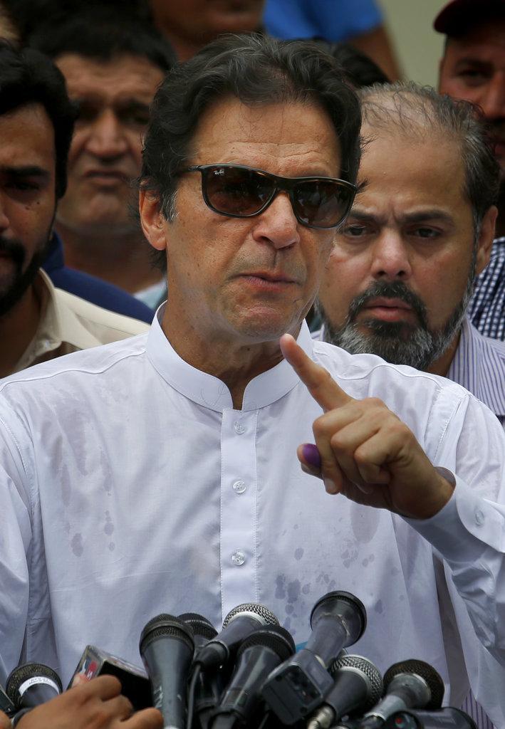 பாகிஸ்தான் தேர்தல் இம்ரான் கான்