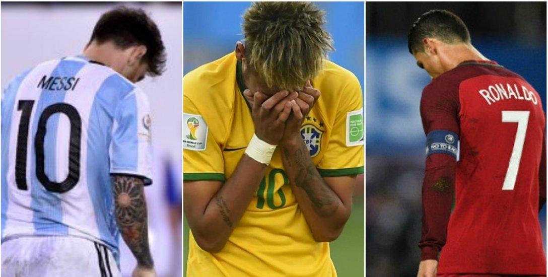 மெஸ்ஸி, ரொனால்டோ, நெய்மர் இல்லாத உலகக் கோப்பையின் பெஸ்ட் லெவன்! #WorldCup