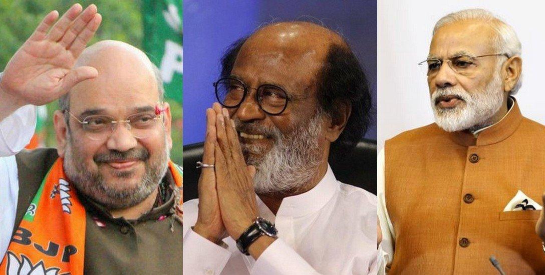 `பி.எம் நரேந்திரமோடி; சி.எம் ரஜினிகாந்த்!' - அமித் ஷாவுக்கு அலர்ட் கொடுத்த ஆடிட்டர்