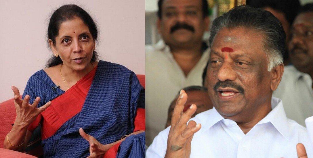 'ரகசியமாக உங்களைச் சந்திக்க வேண்டும்' என்றார் ஓ.பி.எஸ்.!'- மோடிக்கு நிர்மலா சீதாராமனின் மெசேஜ்