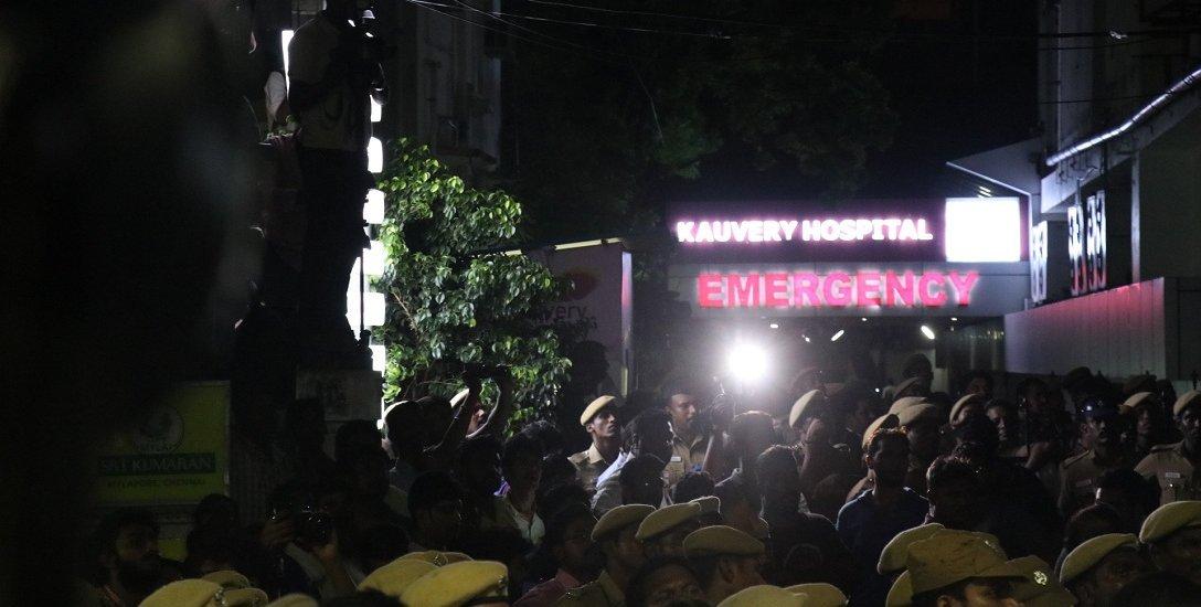 காவேரி மருத்துவமனையின் பரபரப்பு நிமிடங்கள்! #karunanidhi