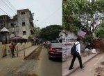 சென்னையில் வாகன ஓட்டிகளை அச்சுறுத்தும் காய்ந்துபோன மரங்கள், பள்ளங்கள்!