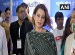 `மோடி மீண்டும் பிரதமராக வேண்டும்' - நடிகை கங்கனா ரணாவத் விருப்பம்!