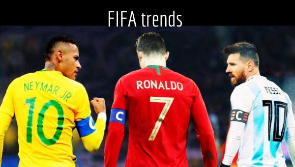 லவ் ரொனால்டோ, லைக் மெஸ்ஸி, ஹஹா நெய்மர், இதயங்களை வென்ற அர்ஜென்டினா, போர்ச்சுகல்! #FIFAtrends