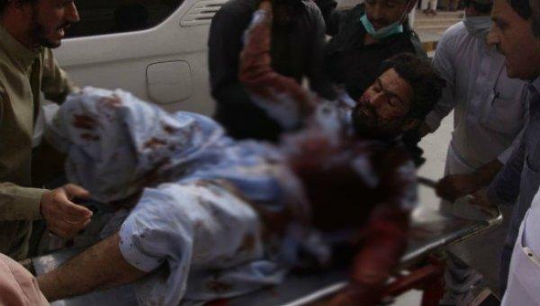பாகிஸ்தான் தேர்தல் பிரசாரத்தில் குண்டுவெடிப்பு...! 90 பேர் பலி