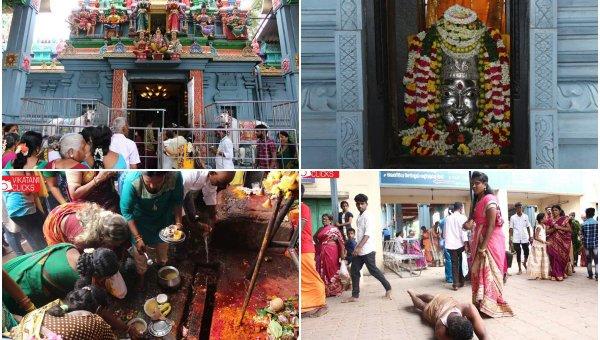 நாடி துதிப்போர்க்கு நல்வழி காட்டும் பெரியபாளையம் பவானி அம்மன்! #VikatanPhotoStory