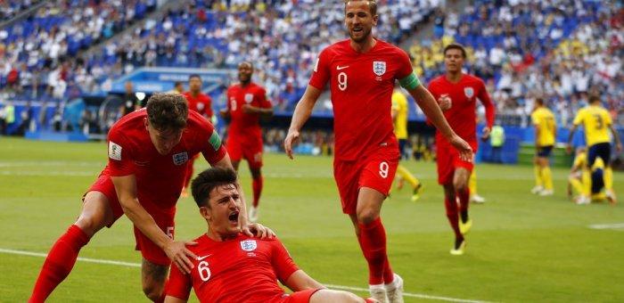 இரண்டு ஹெட்டர் கோல்... இரண்டு அட்டகாச Save... ஸ்வீடனை வீழ்த்தியது இங்கிலாந்து!  #SWEENG #WorldCup