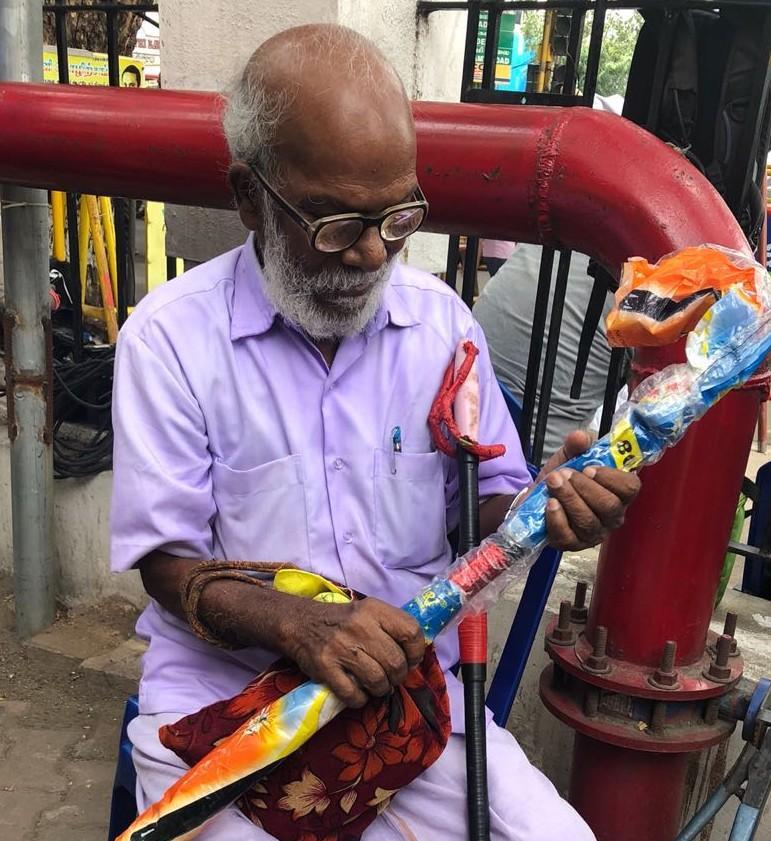 முதியவர் சோமசுந்தரம்