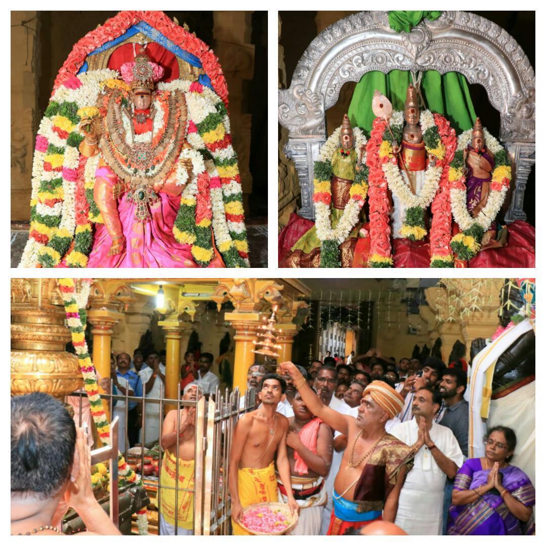 ராமேஸ்வரம் ராமநாதசுவாமி திருக்கோயில் ஆடி திருவிழா