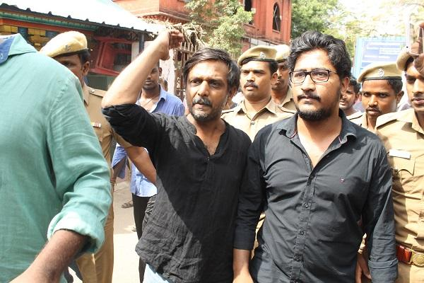 Court against Thirumurugan Gandhi