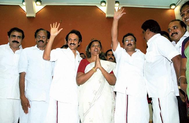 thirumangalam election