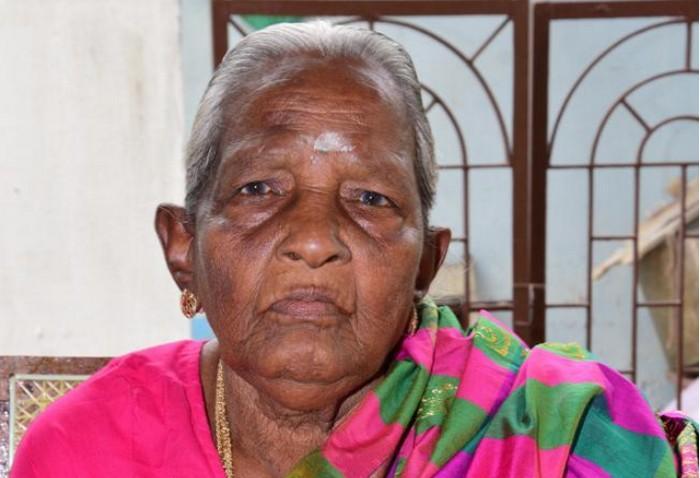 தியாகியின் மனைவி ஜெயலெட்சுமி அம்மாள்