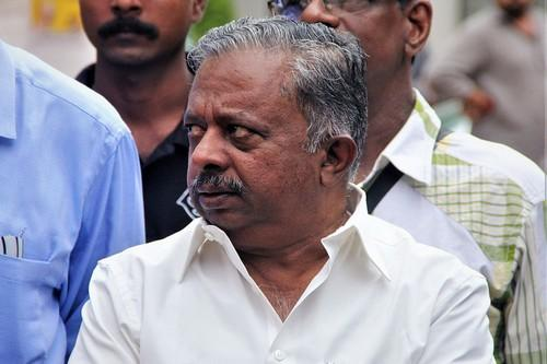 கேரளா வனத்துறை அமைச்சர் கே. ராஜூ