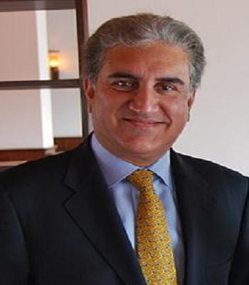 ஷா மெகமூத் குரேஷி - பாகிஸ்தான் வெளியுறவுத் துறை அமைச்சர்