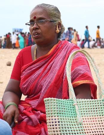 செல்லம்மாள் - மெரினாவில் குறி சொல்பவர்