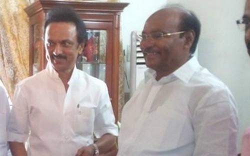 ஸ்டாலினுடன் ராமதாஸ்