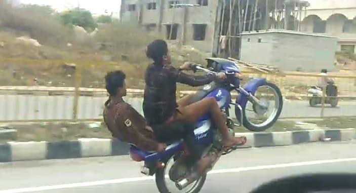 வீலீங் சாகசம்