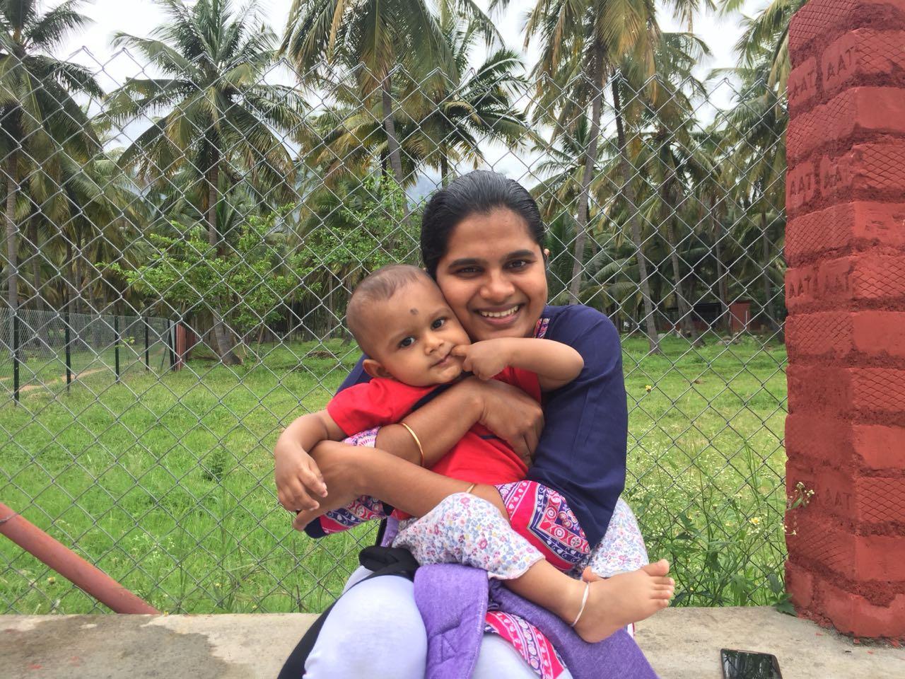 திருப்பூர் சரண்யா மோகன்