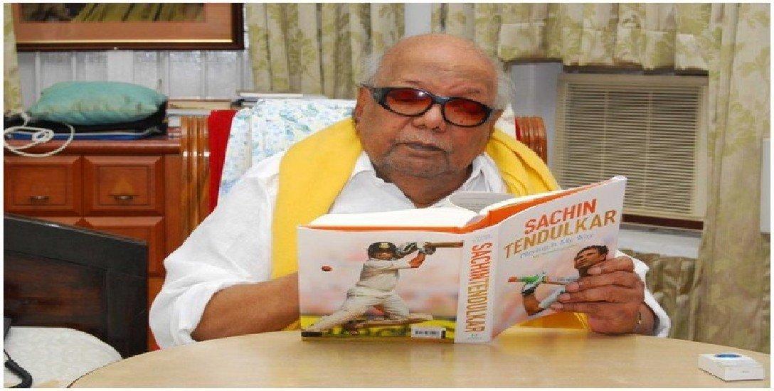 முன்பு 'கபில்தேவ்' இப்போது 'தோனி' சி.எஸ்.கே-வின் சின்சியர் ரசிகர் கருணாநிதி