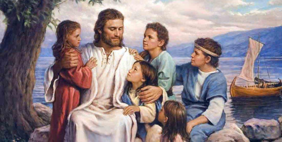 ``சிறுபிள்ளைகளை என்னிடம் வரவிடுங்கள். ஏனெனில் விண்ணரசு அவர்களுடையது!'' -  பைபிள் #Bible