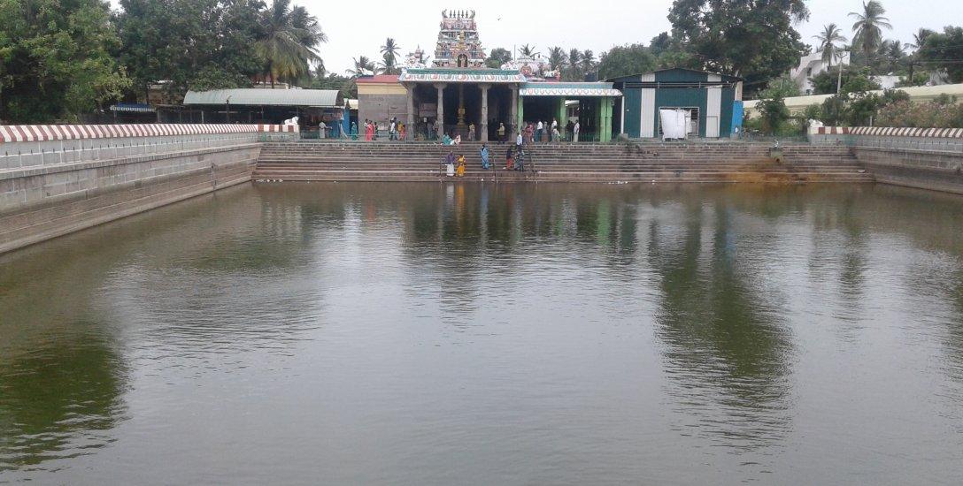 12 ஆண்டுகளுக்குப் பின்பு நிரம்பும் சூரிய தீர்த்தம் - பக்தர்கள் மகிழ்ச்சி
