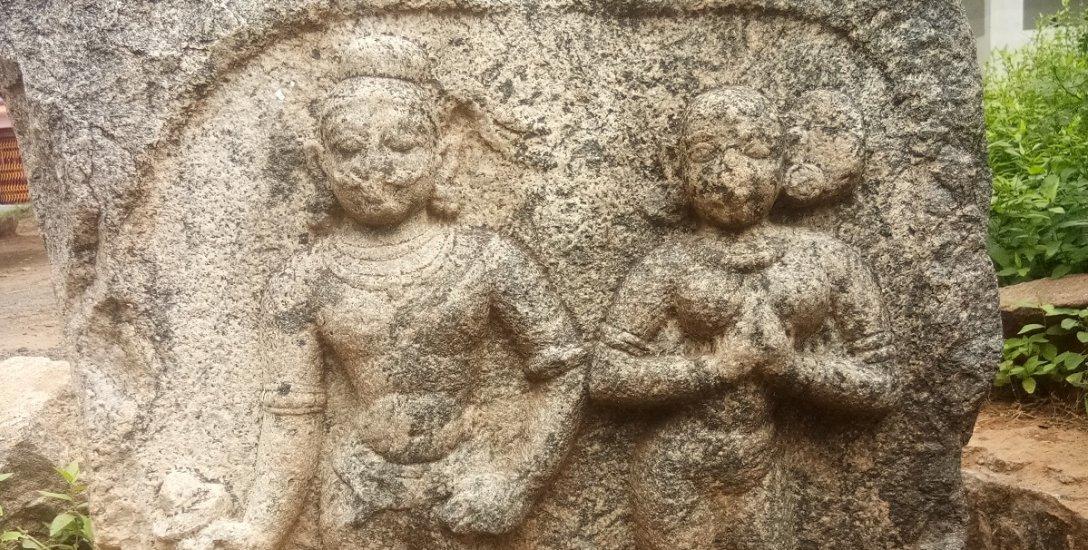 கணவனுக்காக உடன்கட்டை ஏறிய மனைவி... சேலம் அருகே சதிக்கல்!