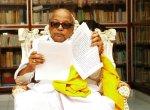 தனது கல்லறையில் கருணாநிதி எழுதச் சொன்ன வாக்கியம்! #MissUKarunanidhi