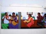 ஆண், பெண் இருவரும் சமம்... சித்திரக் கூடத்தில் கவர்ந்த அந்த விசித்திர ஓவியம்!