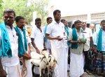 மாவட்ட ஆட்சியரிடம் ஆடுகளுடன் மனு கொடுக்க வந்த ஆடு வளர்ப்போர் சங்கத்தினர்!