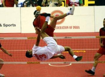 ஆசிய விளையாட்டுப் போட்டி: வெண்கலம் வென்றது இந்திய செபக் டெக்ரா அணி