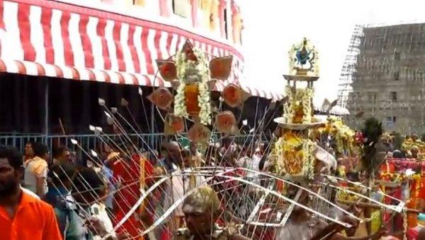 திருத்தணி முருகன் கோயிலில் ஆடிக்கிருத்திகை விழா கோலாகலம்!