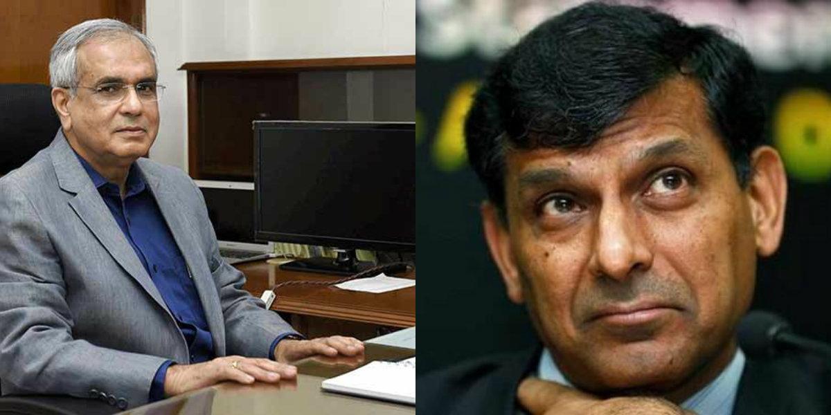 நிதி ஆயோக் தலைவர் ராஜீவ் குமார்- ரகுராம் ராஜன்
