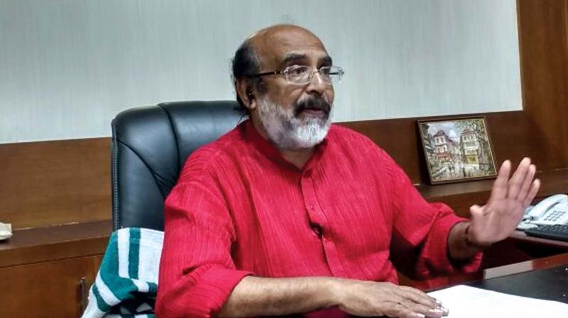 கேரளா நிதி அமைச்சர் தாமஸ் ஐசக்