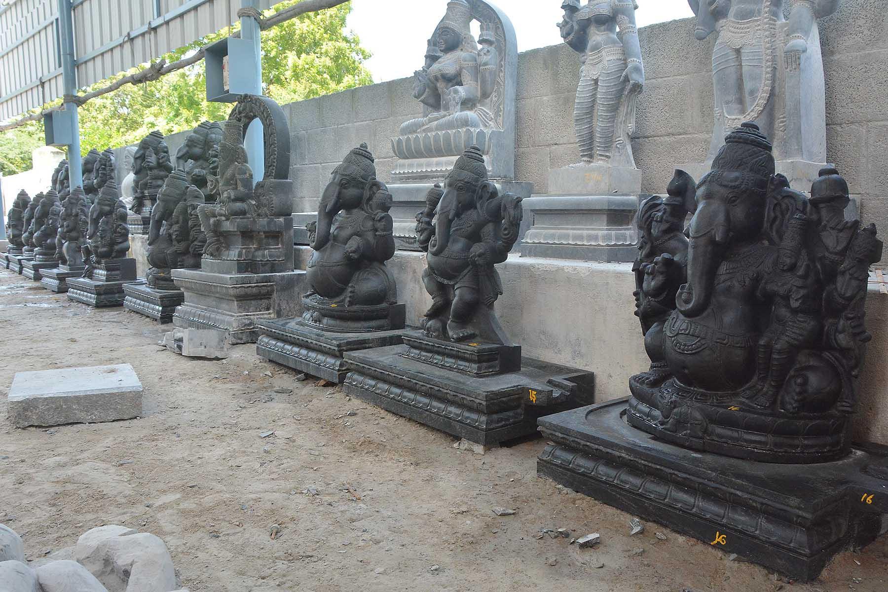 மாமல்லபுரம் சிற்பம், விநாயகர் சிலைகள்