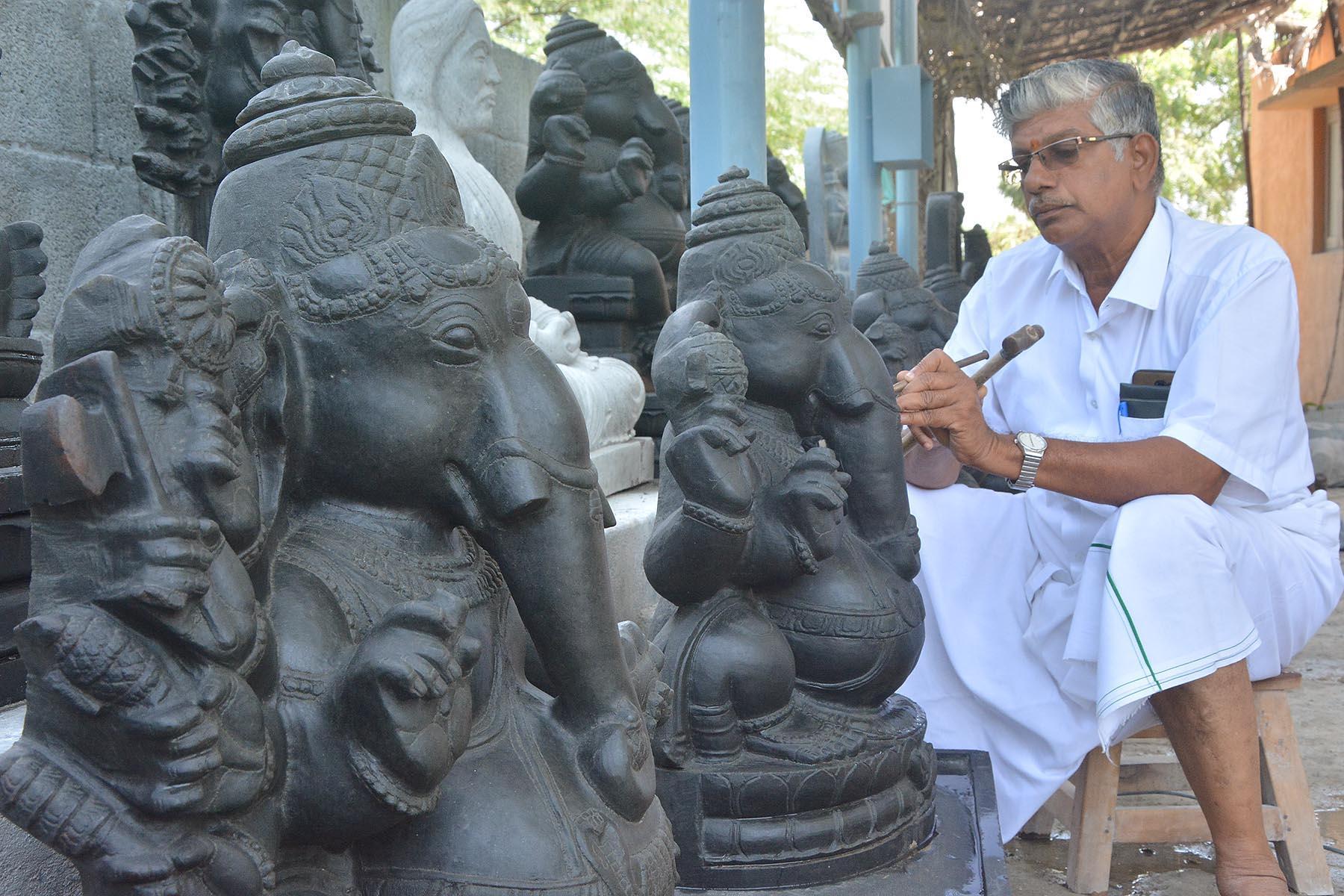மாமல்லபுரம் சிற்பம், விநாயகர் சிலை