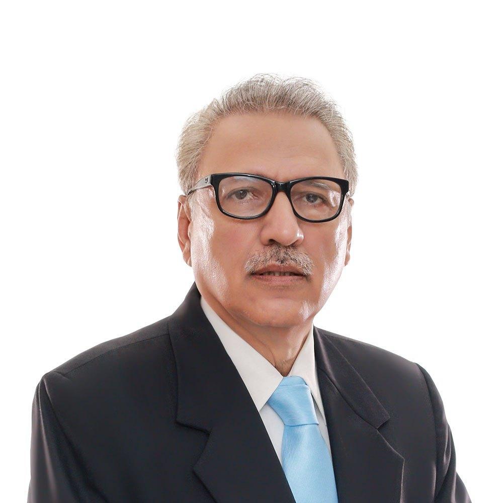 பாகிஸ்தான் 13-வது அதிபர் ஆரிஃப் ஆல்வி