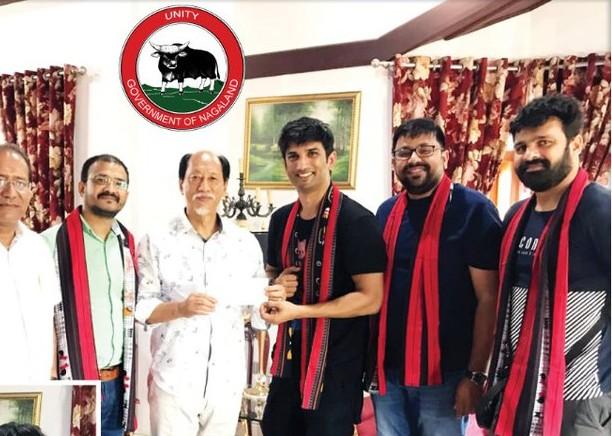 நாகலாந்து முதல்வர் மற்றும் நடிகர் சுஷாந்த் சிங்