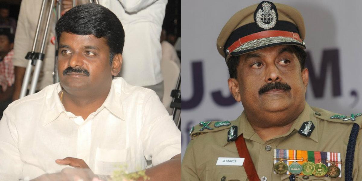 குட்கா வழக்கில் சிக்கிய அமைச்சர் விஜயபாஸ்கர் மற்றும்  ஜார்ஜ்