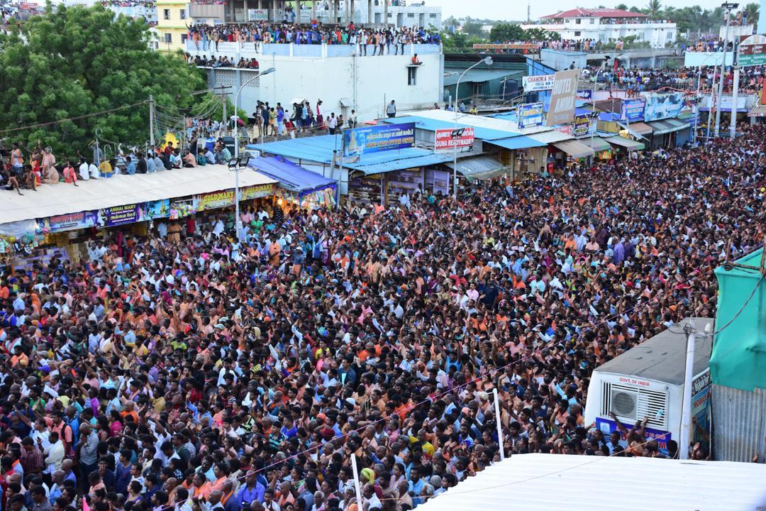 திருத்தேர் பவனி வேளாங்கண்ணி மாதா தேவாலயம்
