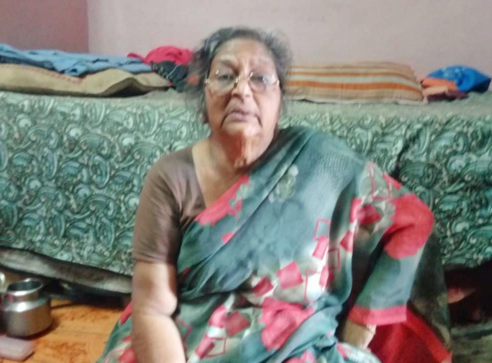 புல்லட் நாகராஜின் தாய் மாலா