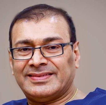 மருத்துவர் சஜன் கே ஹெட்ஜ் (Dr. Sajan K. Hegde)