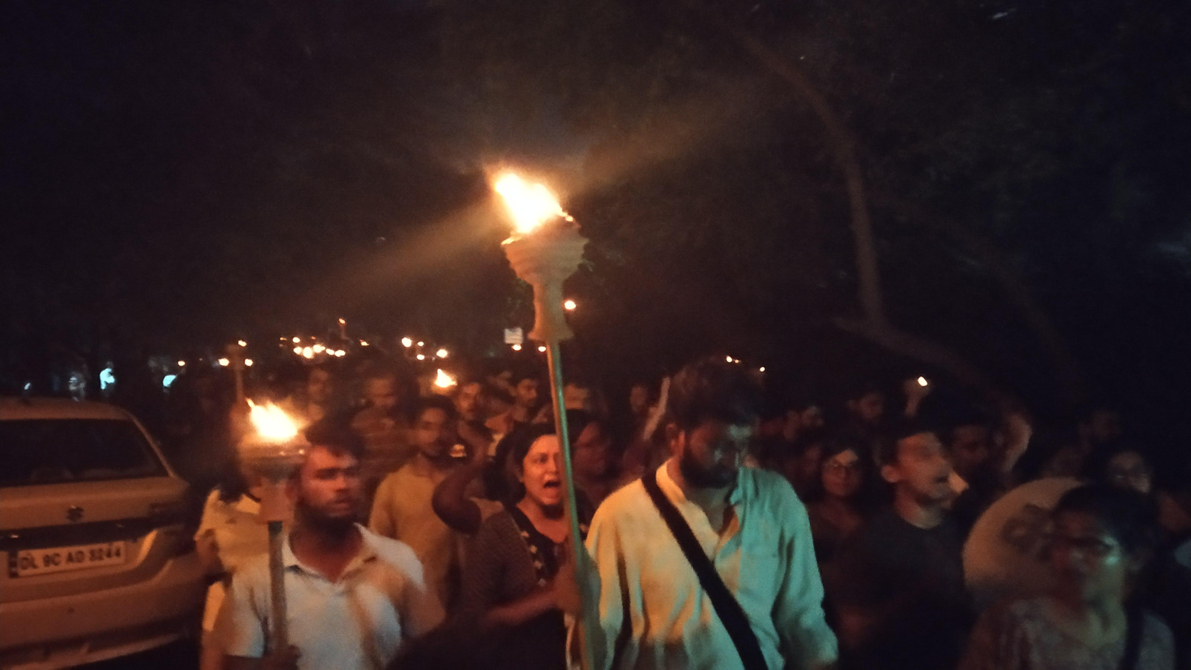 ஜே என் யூ மாணவர் சங்கத் தேர்தல்