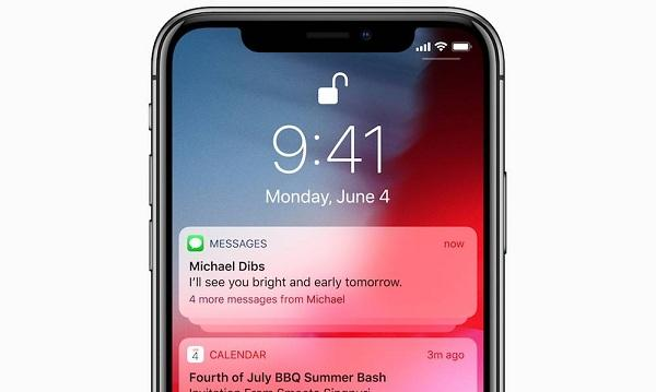 Grouped notifications-iOS12