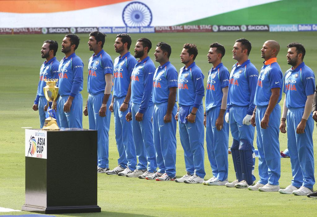 ஆசியக்கோப்பை இந்தியா அணி